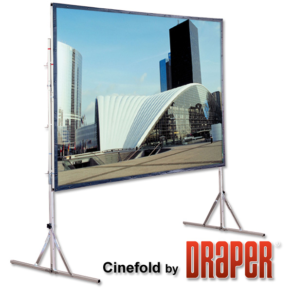 draper 12ft wide x 6ft 9 inch high widescreen 169 front projection screen - Projection Screens