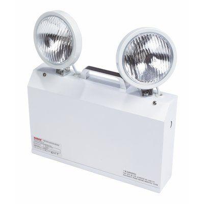 Emergency Twin Spot Light 3hr Battery Backup