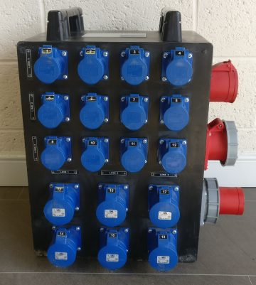 Mains Distribution unit hire