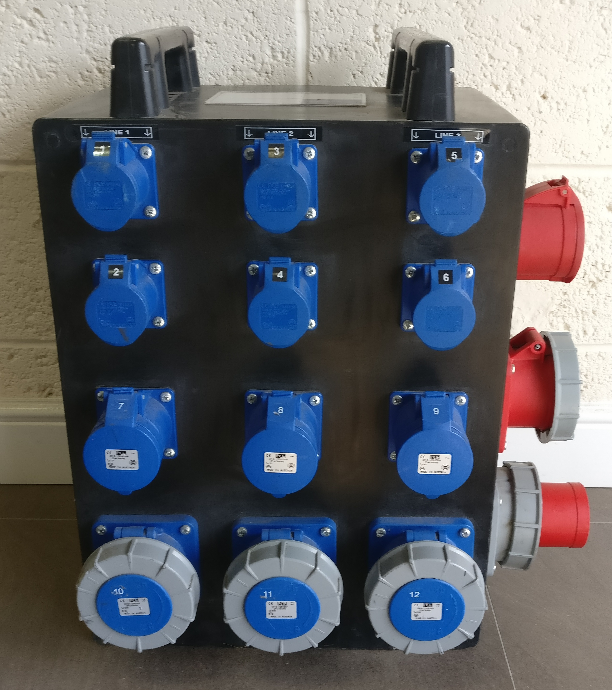 Mains Distribution Hire