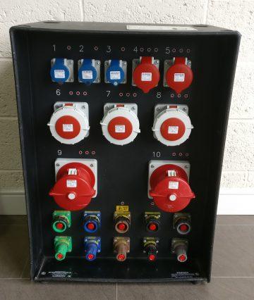 Powerlock Mains Distribution unit hire