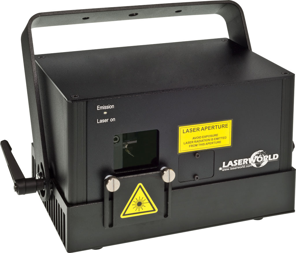 Laserworld DS-1800RGB - Laser Hire