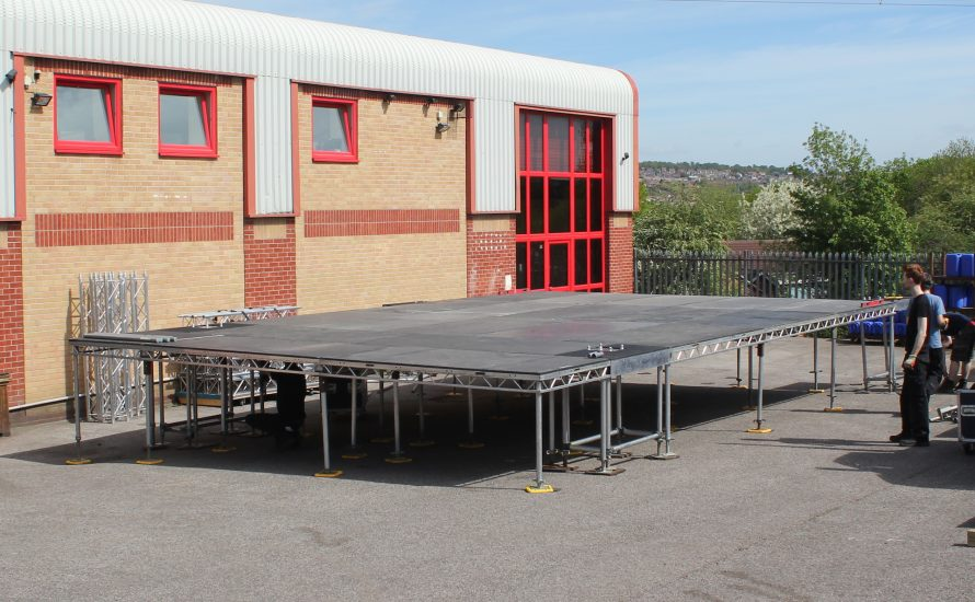 Outdoor Stages, Mobile Stages, Staging Hire, Festival Stage