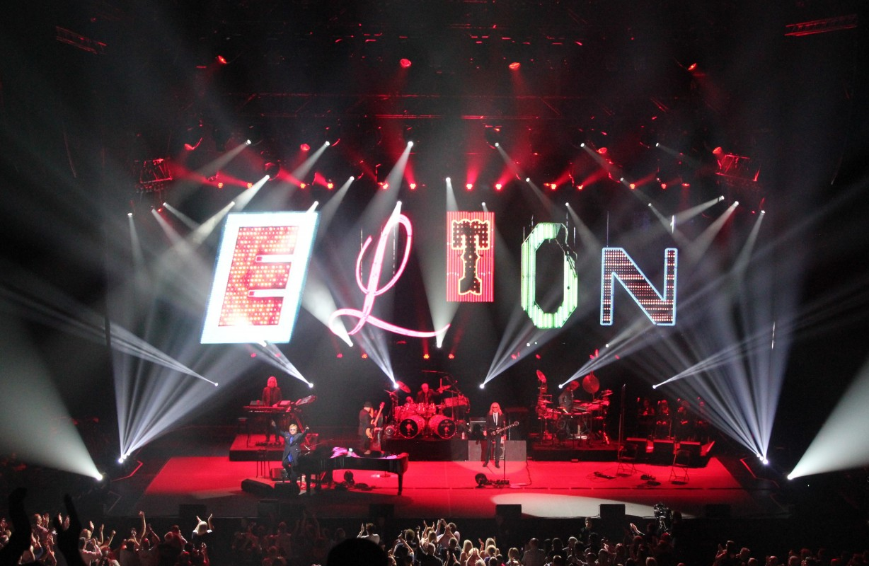Elton John Leeds Arena