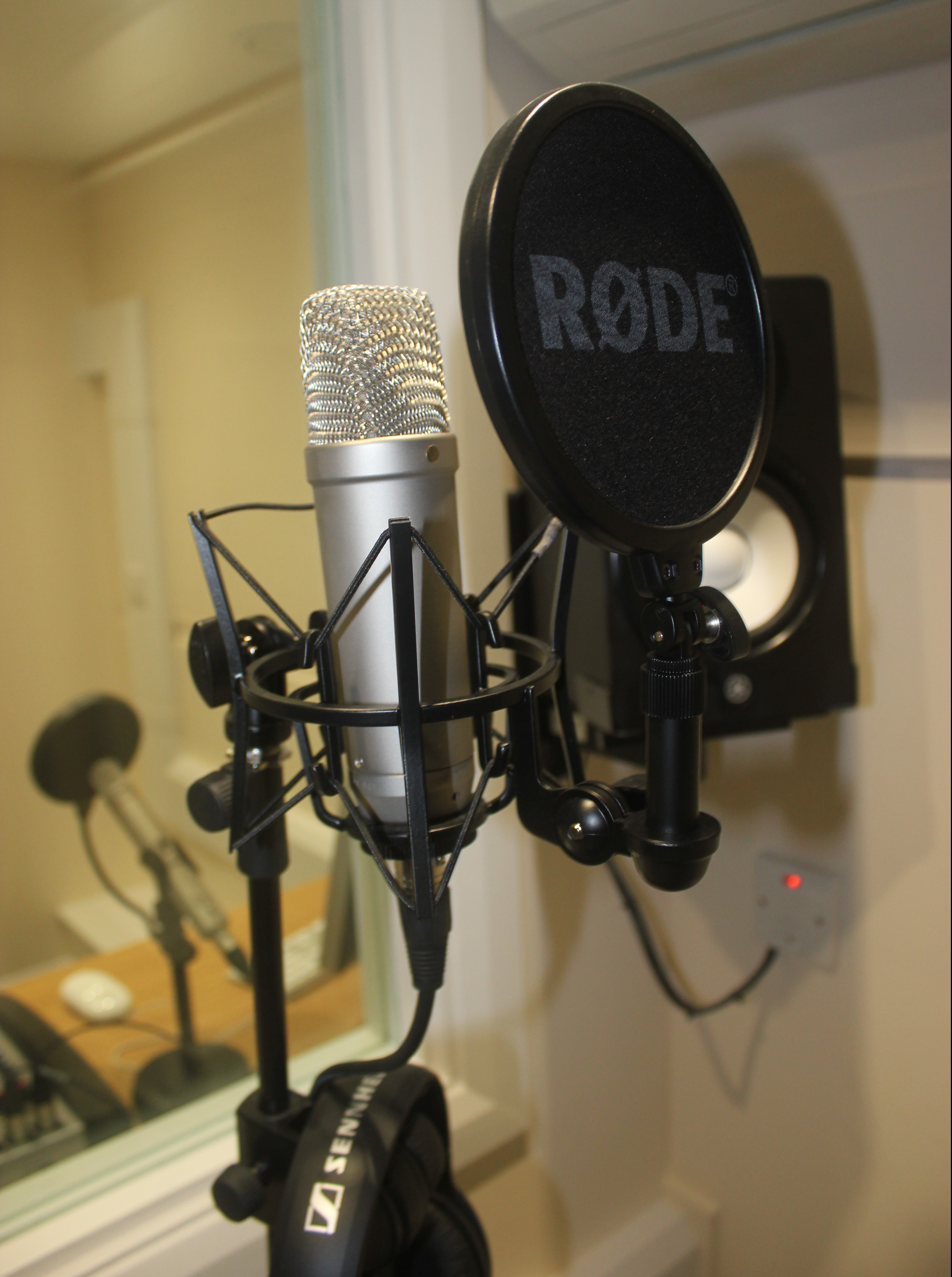 Recording booth installation
